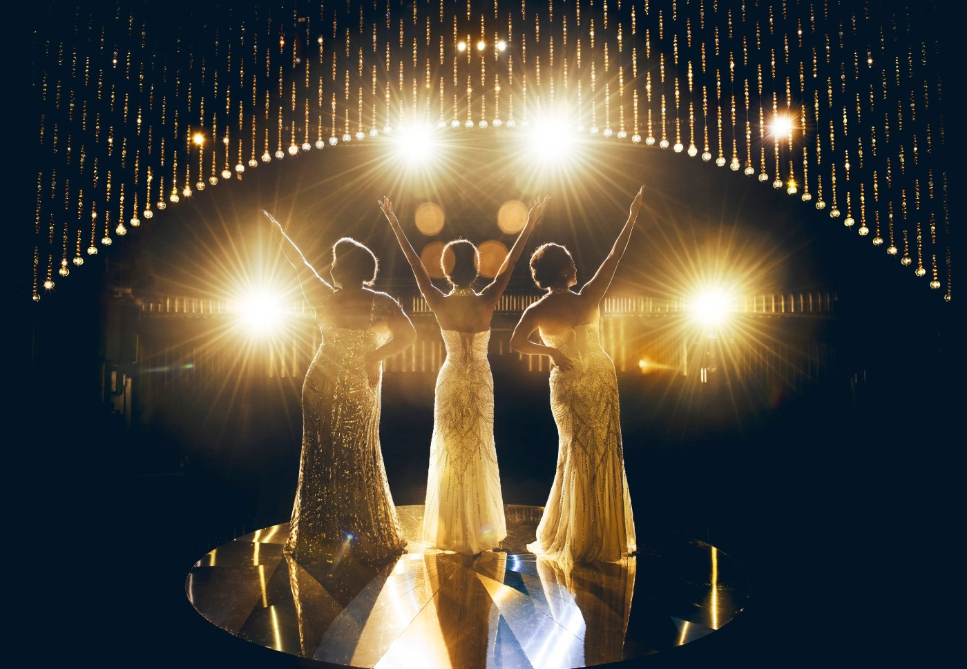 Production still from Dreamgirls London