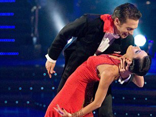 Matt Di Angelo in Strictly Come Dancing