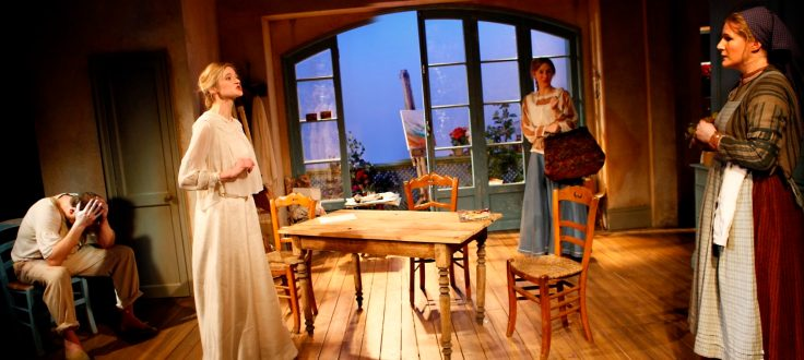 Production still from Agnes Colander at Theatre Royal Bath