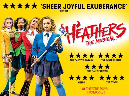 Heathers the Musical London triplet