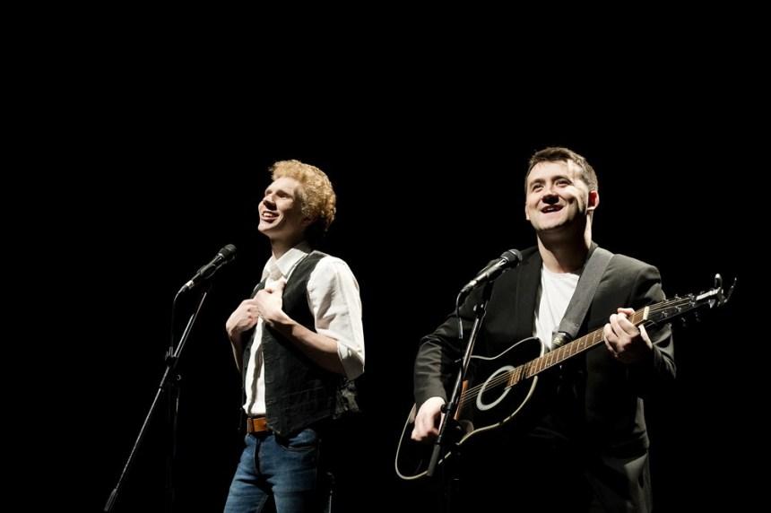The Simon & Garfunkel Story London production still