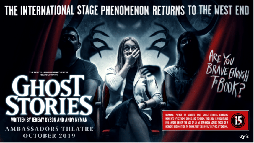 Ghost Stories London promo image