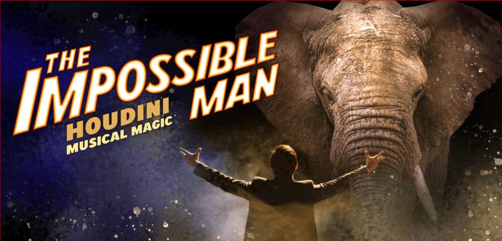 Impossible Man musical poster