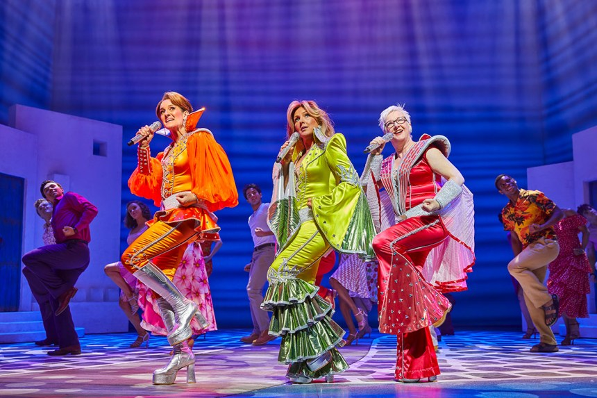 Mamma Mia London production still
