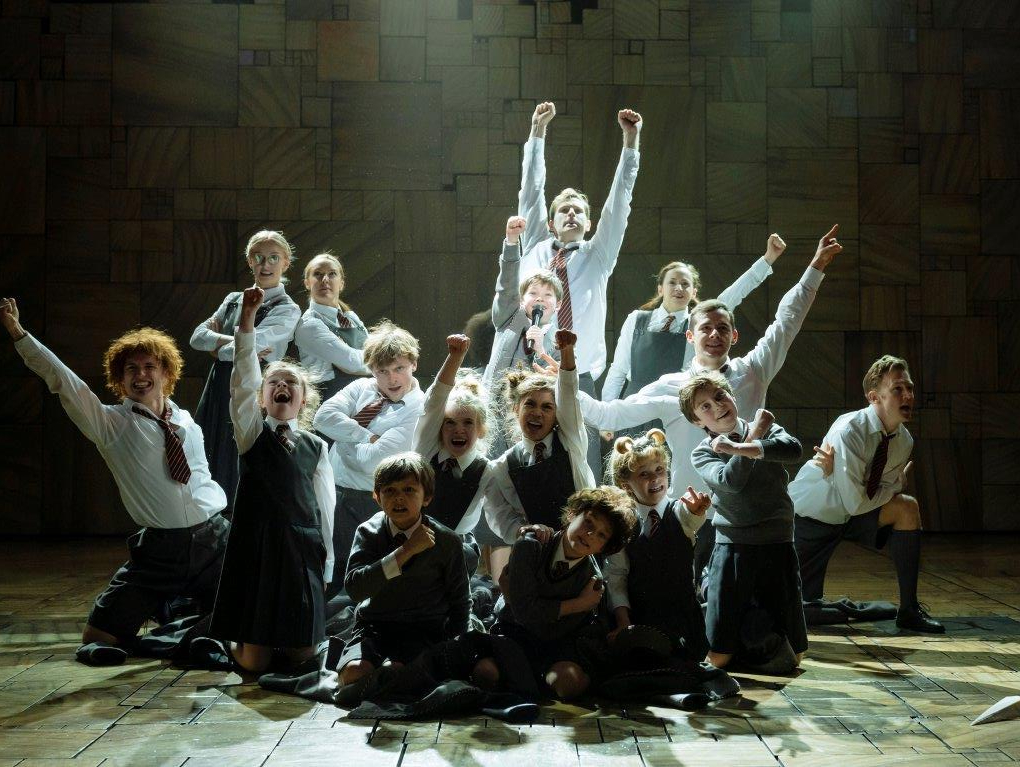 Matilda the Musical London production still