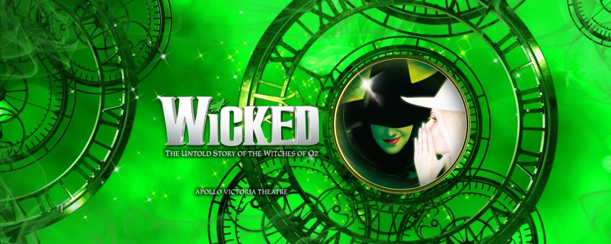 Wicked The Musical at Apollo Victoria Theatre in London