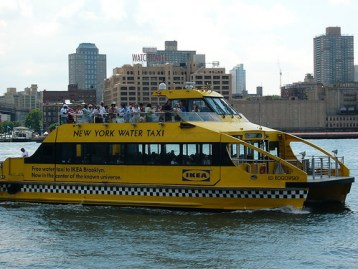 Water Taxi from Pier 11 to Ikea: Free on Saturdays and Sundays!