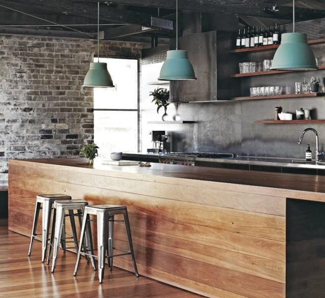 Industrial Kitchen Art: Interior Design Styles: 8 Popular Types Explained