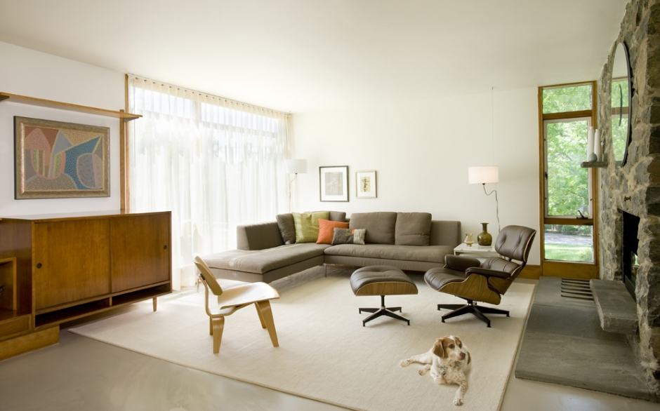 Mid-Century Modern Living Room
