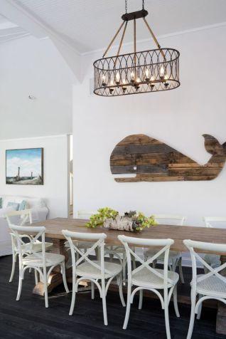 Nautical Decor Dining Room
