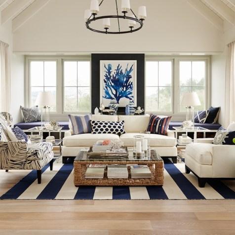 Nautical Decor Living Room