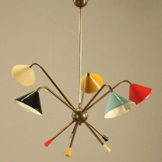 Mid-Century Modern Ceiling Lamp