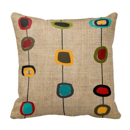 Mid-Century Modern Pillow