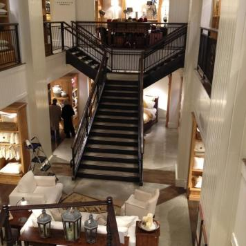Pottery Barn Staircase