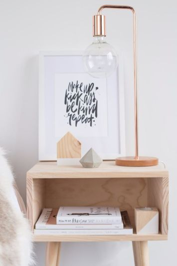 Organized Side Table