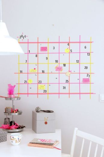 Wall Planner Tape