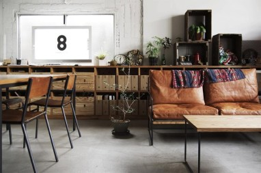 industrial furniture ideas. Modern Industrial Living/Dining Room Industrial Furniture Ideas
