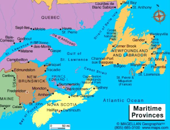 Surprising Costs Of Our Maritimes Trip Blog Frugal Rv