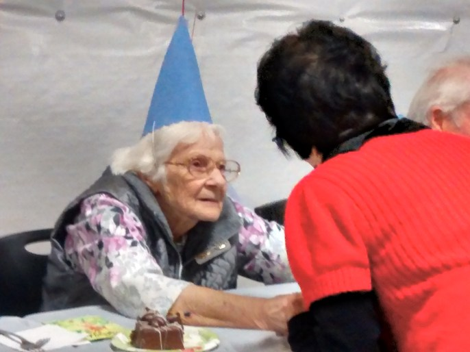 Kay Peterson's 90th birthday bash