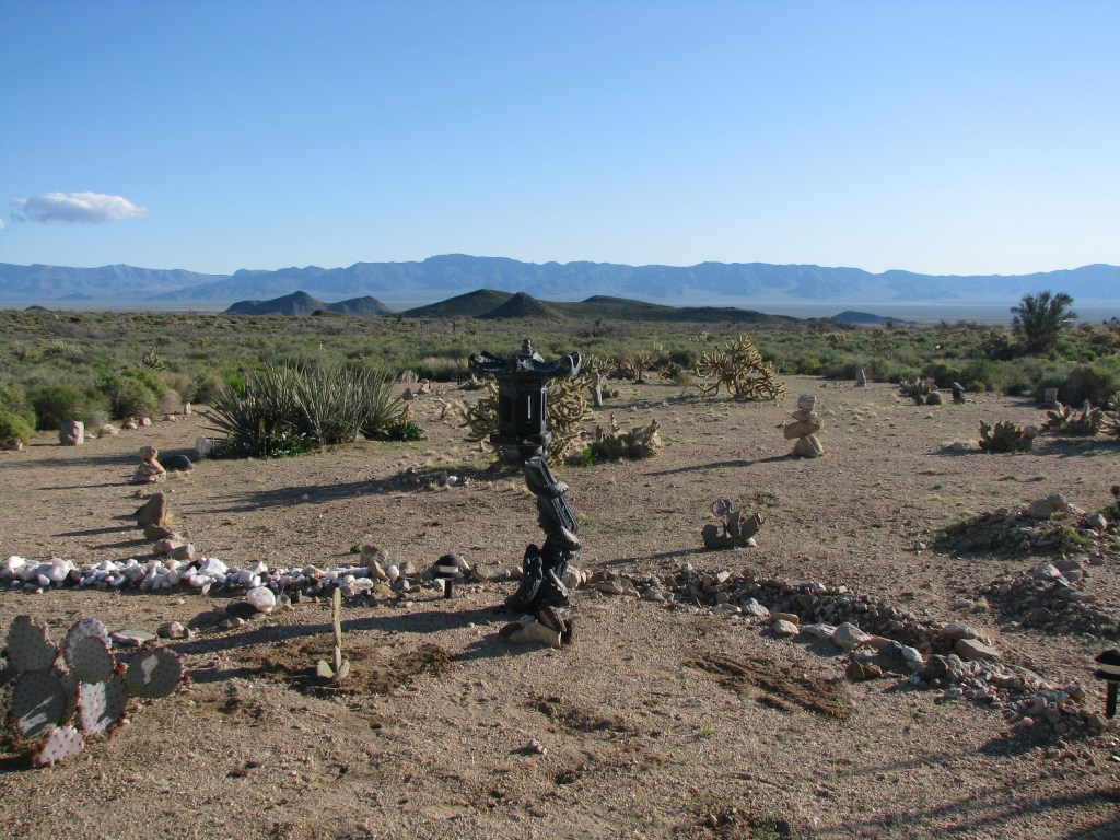 Desert Art along the trails