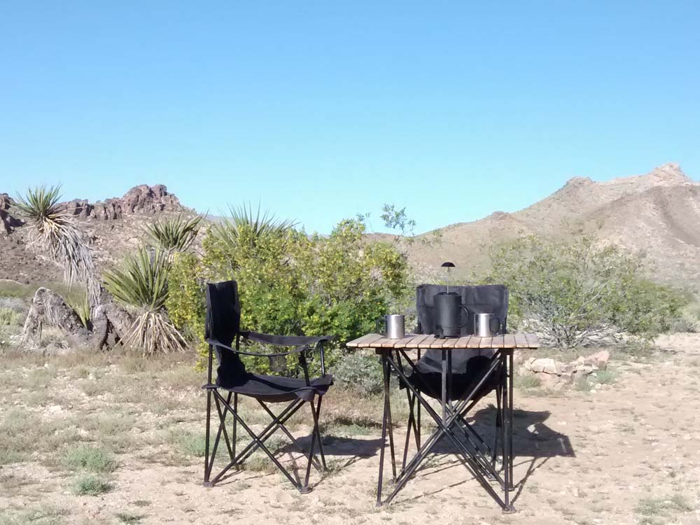 Mojave National Preserve boondocking