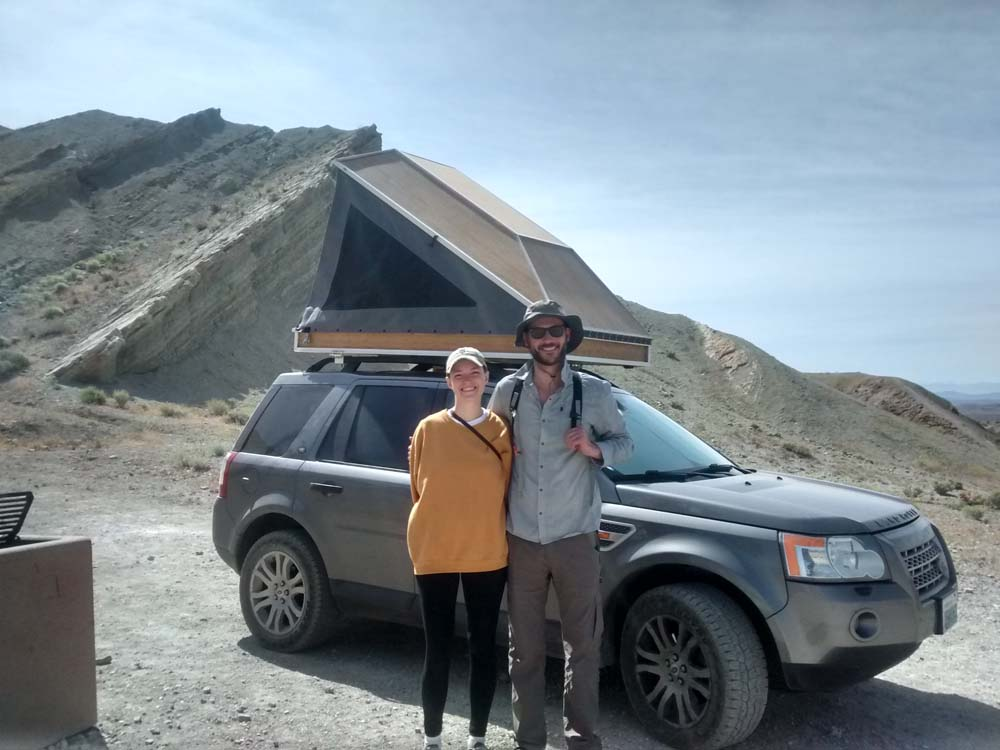 Cool new roof-top tent