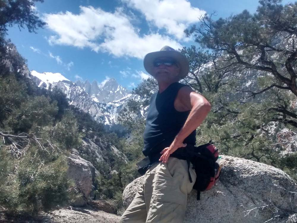 On the Whitney Portal Trail