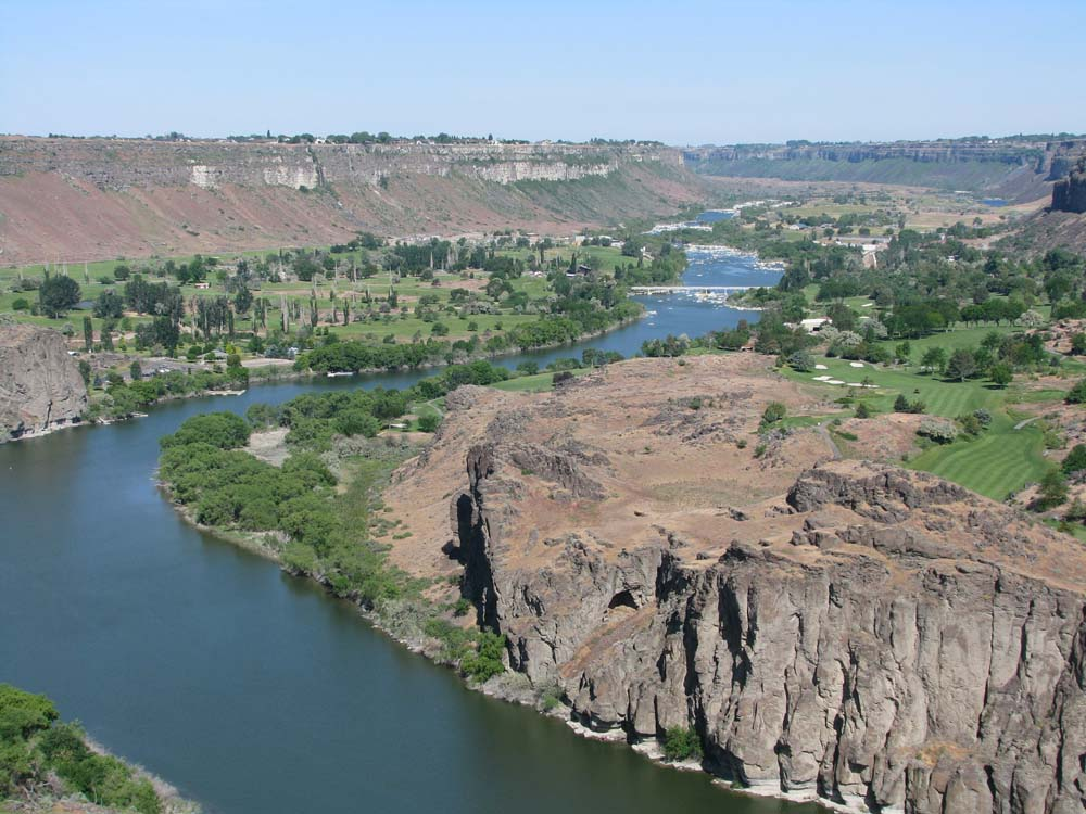 Snake River Gorge, Twin Falls, Idaho