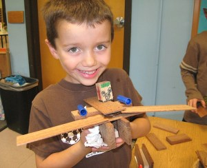 I love seeing the pride on their faces when students complete a project.