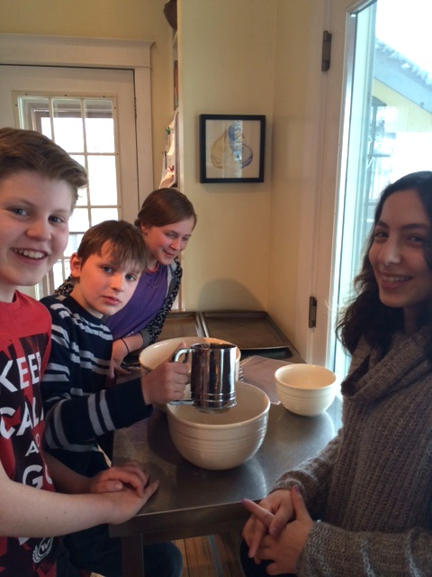 5th and 6th grade elective: cooking with Lili