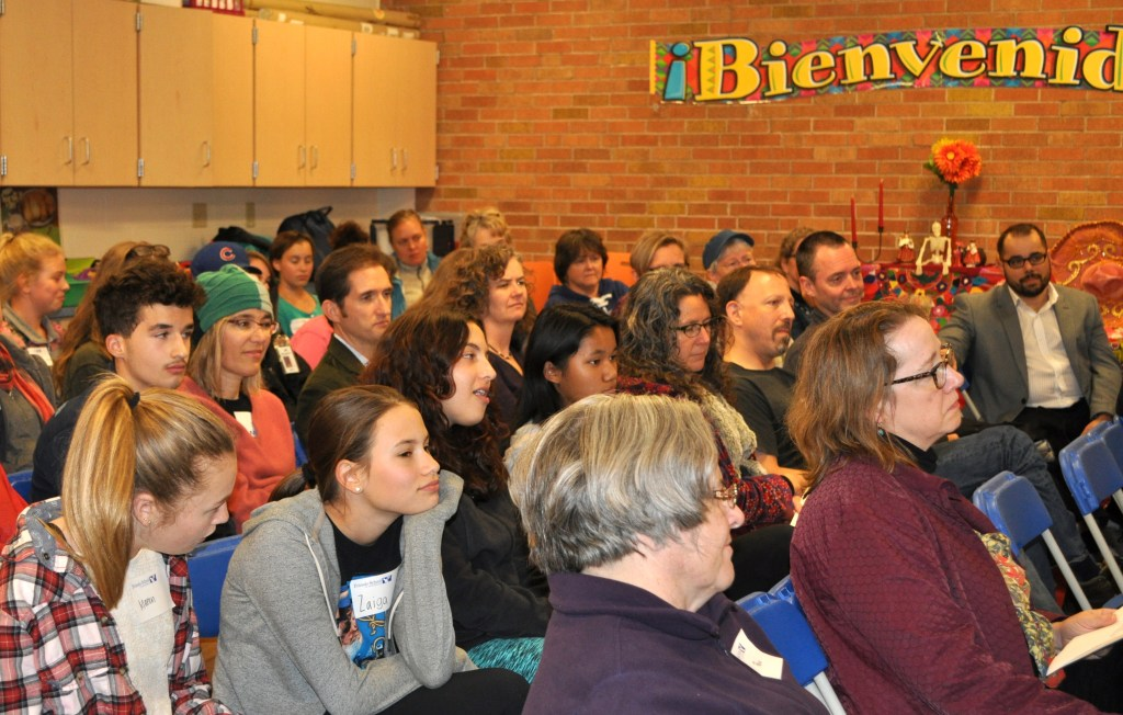 Over 60 FSM students and family members came to our annual high school information night.
