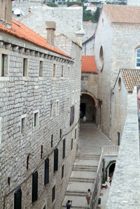 A view from the walls