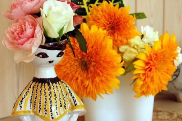 花冠の花瓶