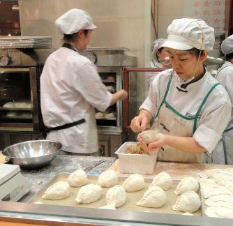 Trabajadores de cocina