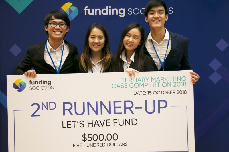 Funding Societies Tertiary Marketing Case Competition 2nd Runner-Up - Let's Have Fund