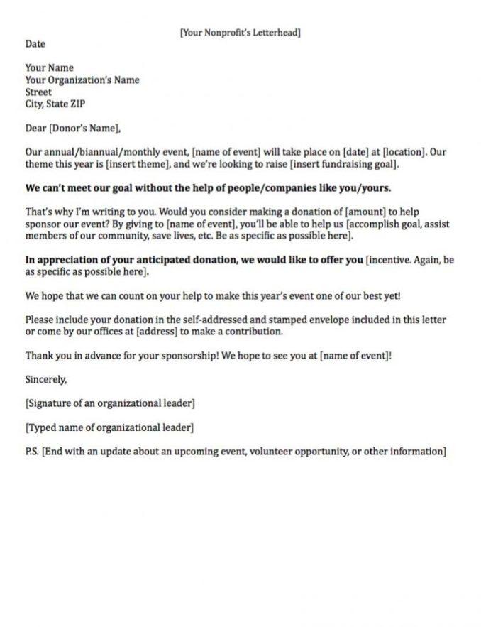 Sample letter asking for gift sponsorship newsinvitation example of a fundraising letter asking for sponsorship spiritdancerdesigns Choice Image