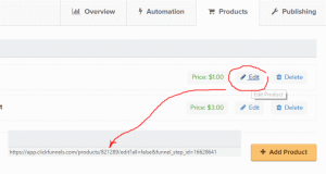 Dynamic Image selector in Clickfunnels for editing the product id