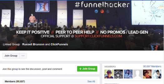 Clickfunnels FB Group
