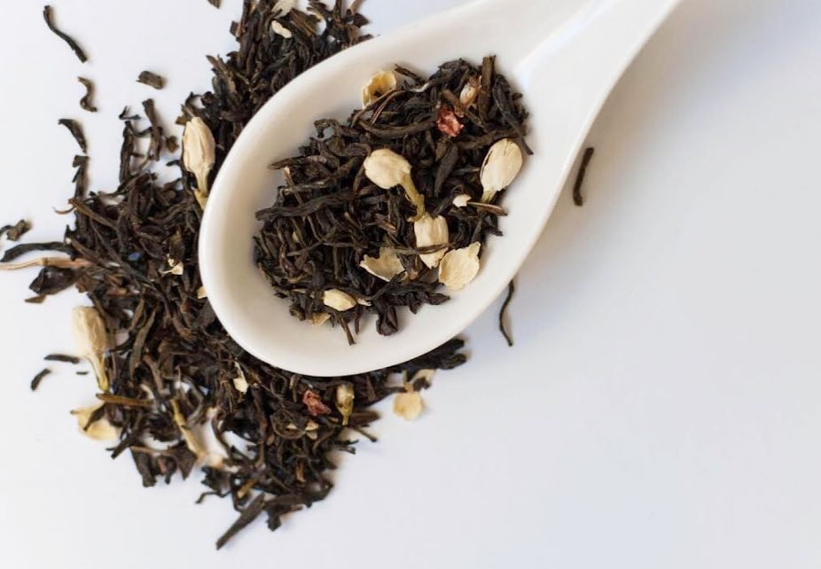 Naturally Scented organic jasmine green tea