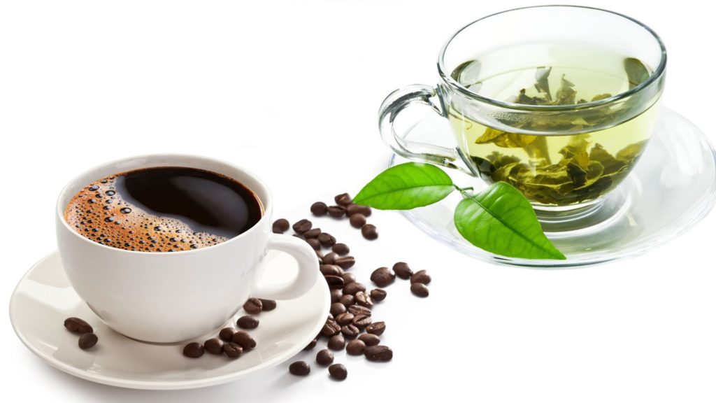 Coffee & Green Tea good for brain