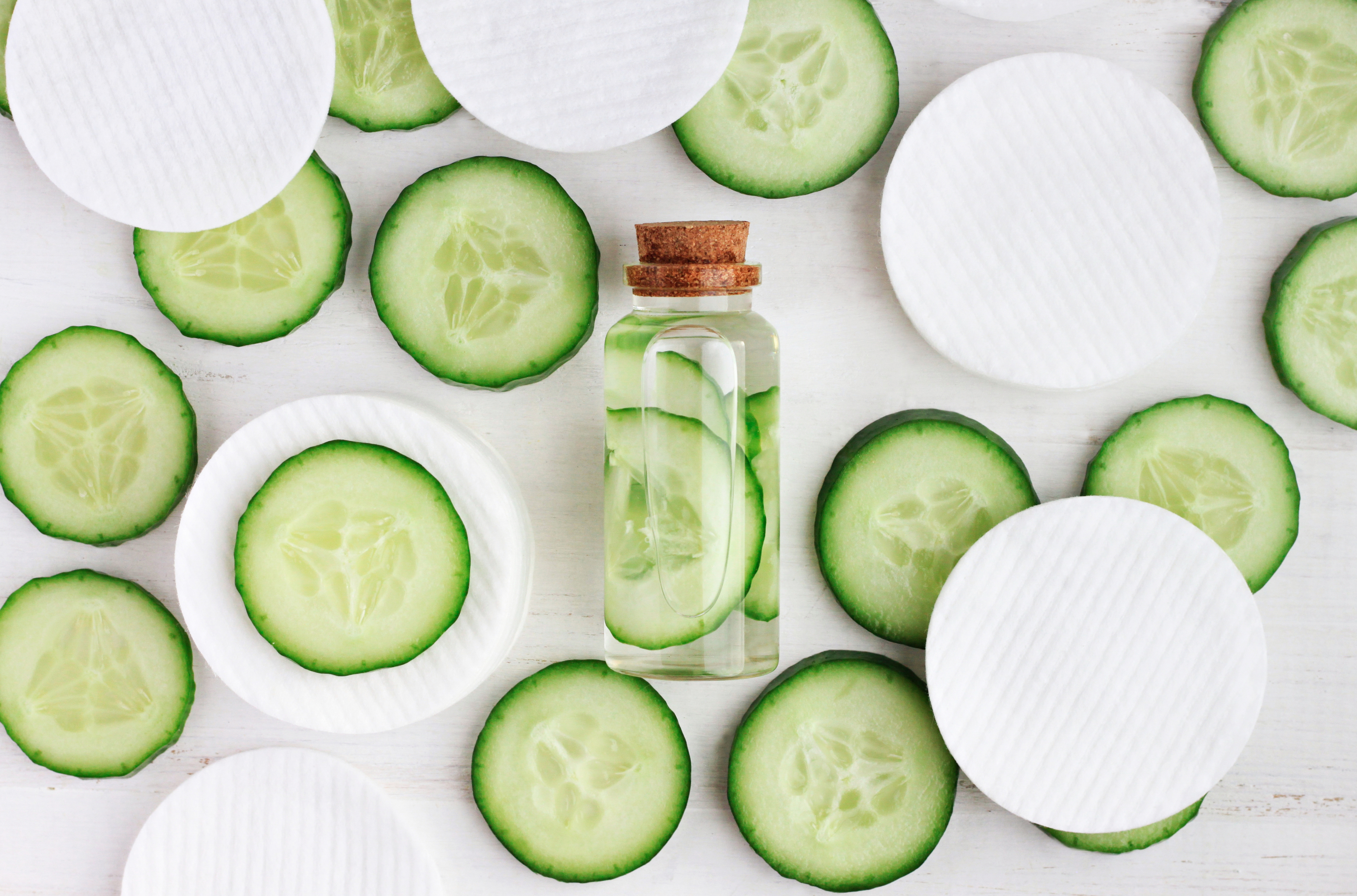 DIY Cucumber Green Tea Face Mist