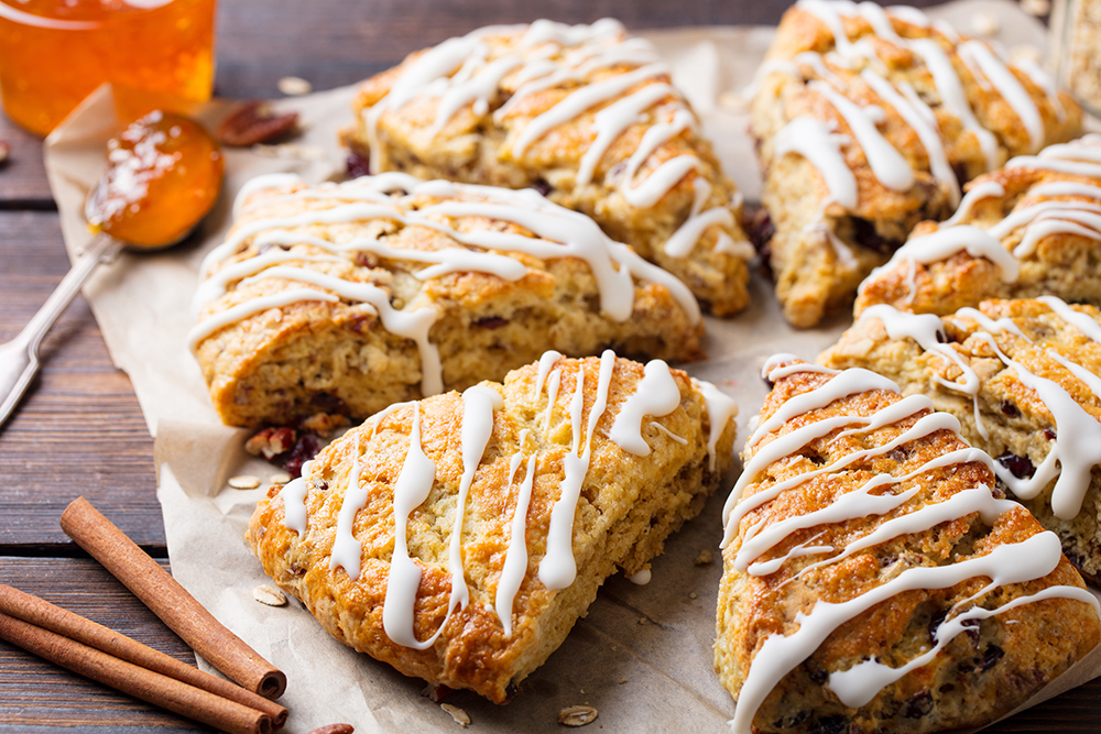 Pumpkin Spice Scone Recipe and Tea Pairings