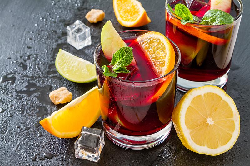 Iced Citrus Hibiscus Tea Sparkler Recipe