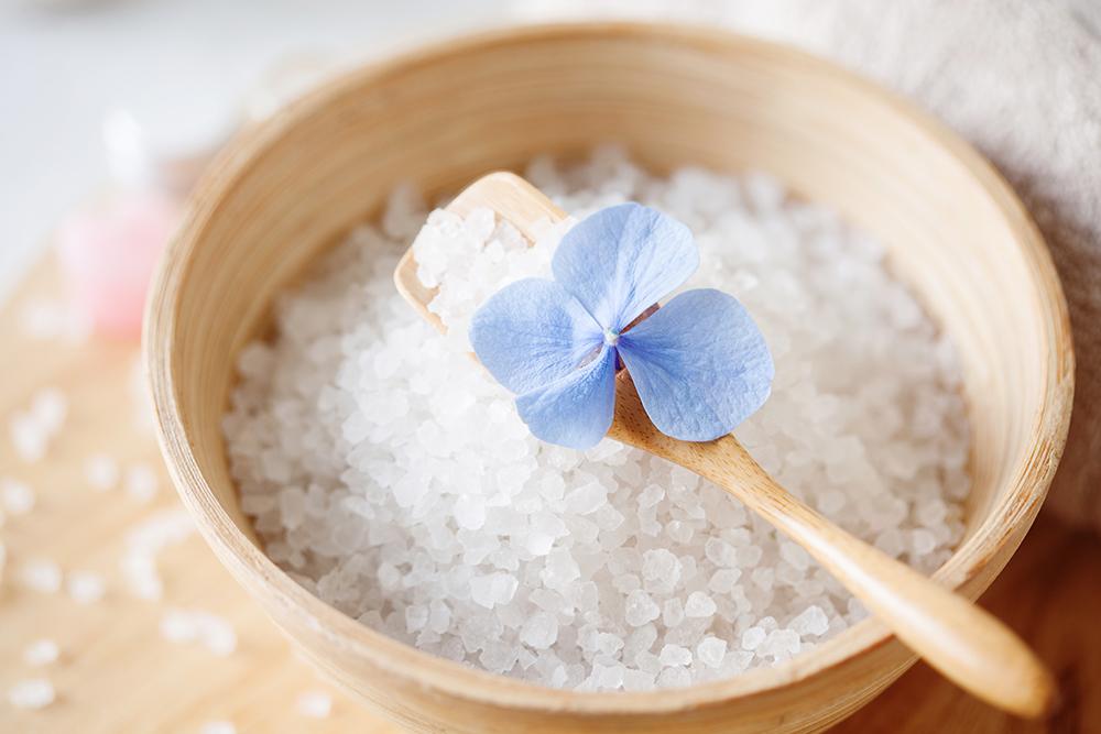 DIY Tea Bath Salts for Gifts