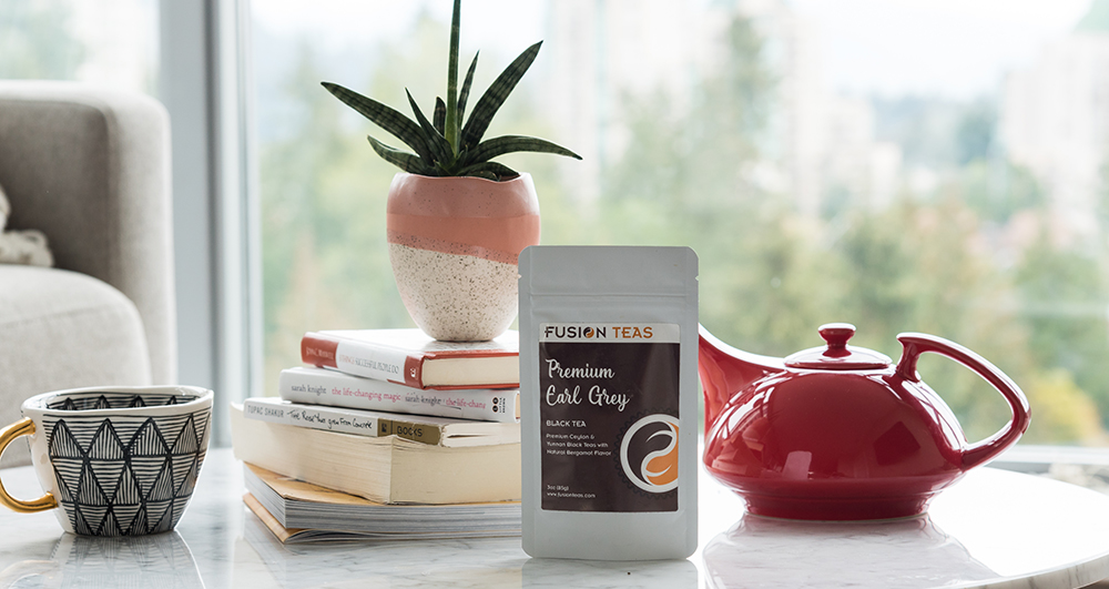 Premium Earl Grey with Ceylon Tea and Yunnan Black Tea