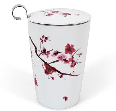 Cherry Blossom Infuser Mug