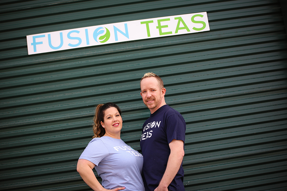 Thomas and Theann Egbert Co Owners of Fusion Teas