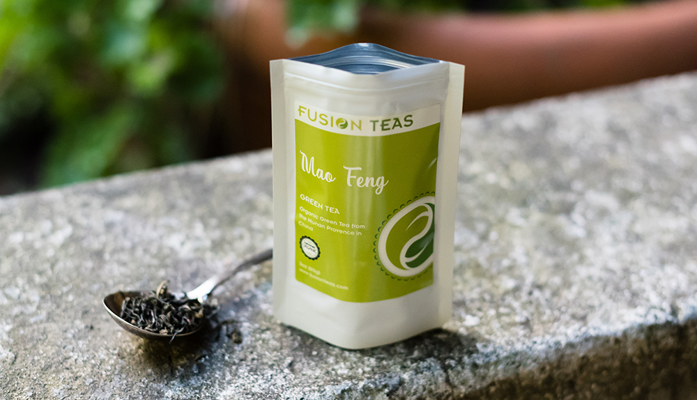 Chinese Green Teas - Organic Mao Feng Green Tea