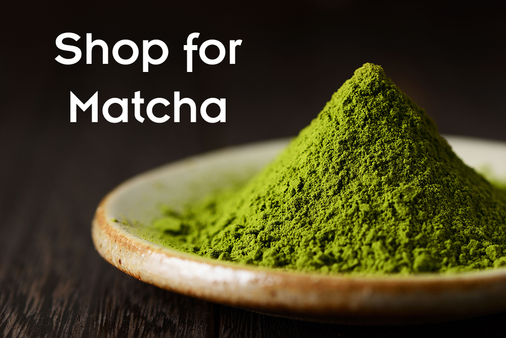 Shop for Matcha at the Fusion Teas Store
