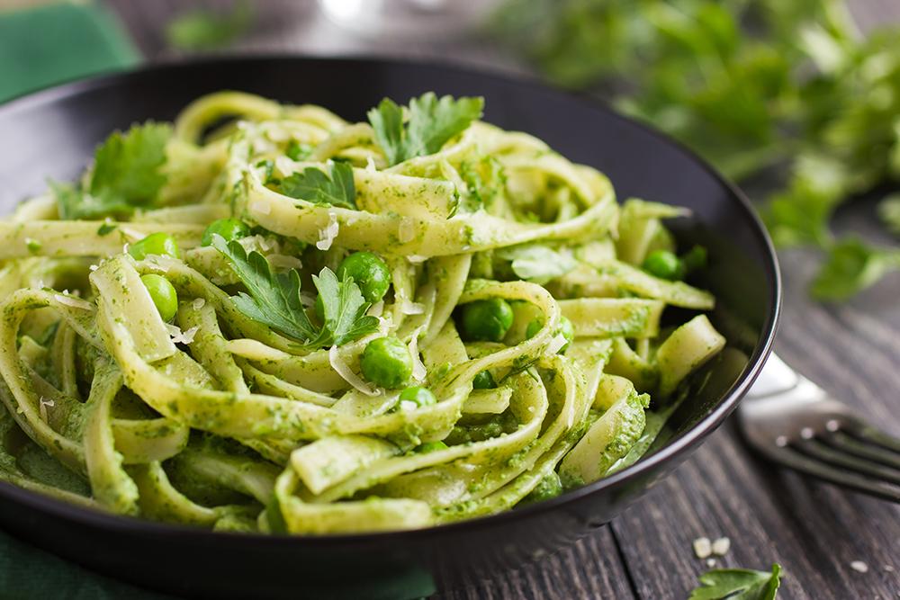 Easy matcha recipes - Matcha Pesto Pasta Recipe
